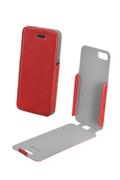 Housse pour iPhone Muvit ETUI CLASSIQUE ROUGE IPHONE 5/5S