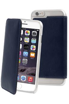 Housse pour iPhone ETUI FOLIO BLEU POUR APPLE IPHONE 6/6S Muvit
