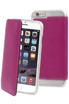 Housse pour iPhone ETUI FOLIO ROSE POUR APPLE IPHONE 6/6S Muvit