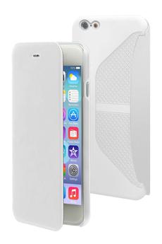 Housse pour iPhone ETUI FOLIO BLANC POUR IPHONE 6 PLUS/6S Plus Muvit