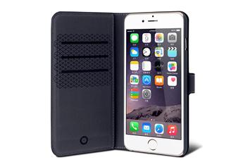 Housse pour iPhone ETUI FOLIO NOIR POUR IPHONE 6+/6S+ Muvit