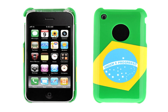 Housse pour iPhone HOUSSE BRASIL IPHONE Muvit