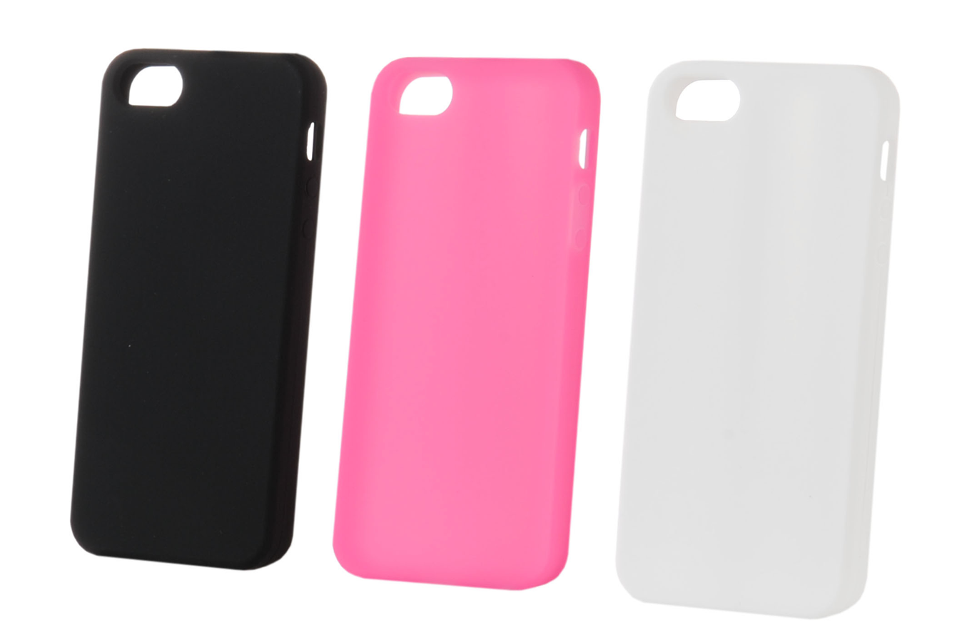 Housse pour iphone muvit lot 3 coques silicone iphone 5 5s for Housse pour iphone 5