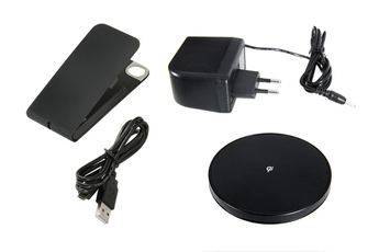 Housse pour iPhone PACK FLIP/CHARGEUR IPHONE 4/4S Muvit