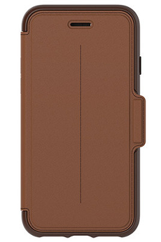 Housse pour iPhone ETUI FOLIO STRADA MARRON POUR APPLE IPHONE 7 Otterbox