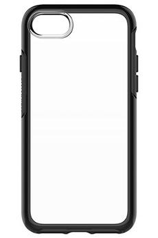 Housse pour iPhone COQUE DE PROTECTION SYMETRY CLEAR NOIRE POUR IPHONE 7 Otterbox