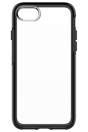 coque iphone otterbox symetry clear noire iphone 7 8 iphone 7 darty. Black Bedroom Furniture Sets. Home Design Ideas