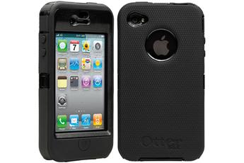 Housse pour iPhone Coque de protection Defender series pour iPhone 4/4S noire Otterbox
