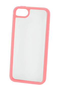 Housse pour iPhone COQUE CLEAR IPHONE 5C ROSE Puro