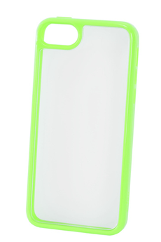 Housse pour iPhone COQUE CLEAR IPHONE 5C VERT Puro