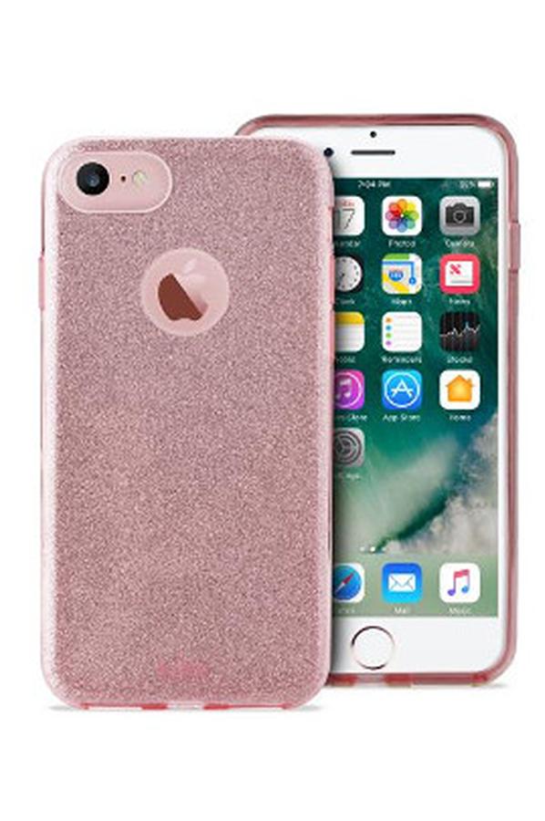 Housse pour iphone puro coque brillante rose pour iphone 7 for Housse pour iphone 7
