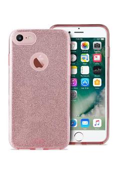Housse pour iPhone COQUE BRILLANTE ROSE POUR IPHONE 7 Puro