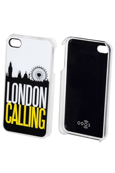 Housse pour iPhone Coque London iPhone 4/4S Qdos