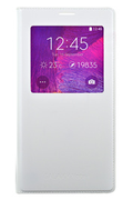Samsung ETUI CLEAR COVER BLANC POUR SAMSUNG GALAXY NOTE 4