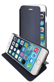 Housse pour iPhone ETUI FOLIO BLEU POUR IPHONE 6/6S Temium