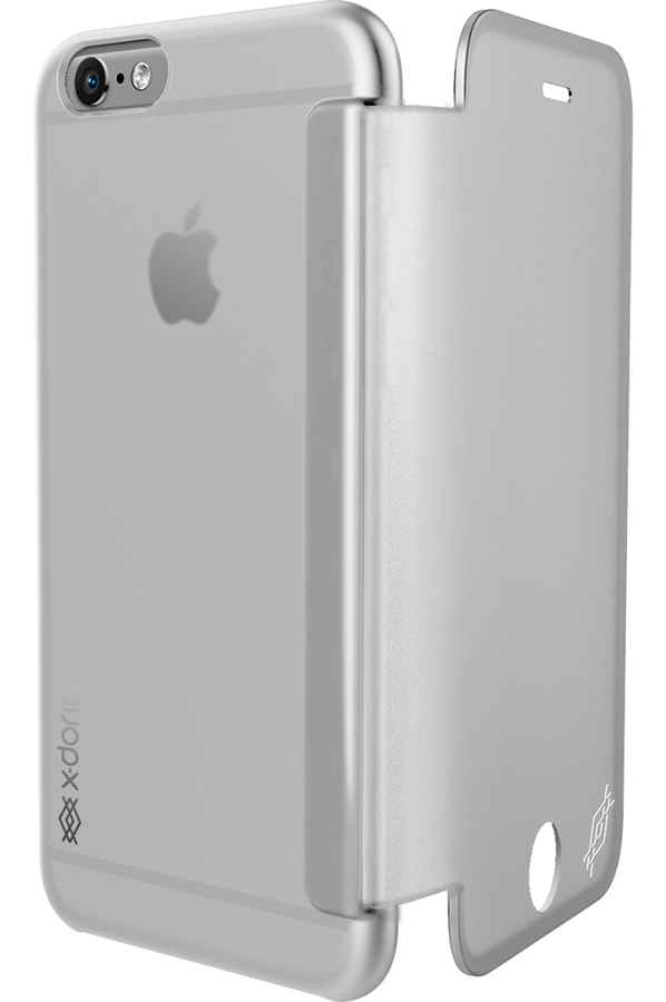 Housse pour iphone x doria etui engage folio view blanc for Housse pour iphone 6