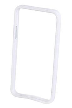 Housse pour iPhone HOUSSE BUMPER BLANC IPHONE 5/5S Xqisit