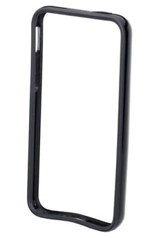 Housse pour iPhone HOUSSE BUMPER NOIR IPHONE 5/5S Xqisit