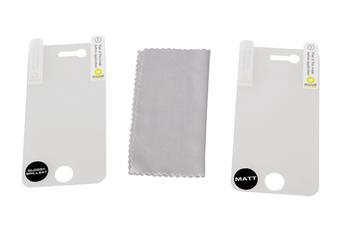 Protection d'écran pour smartphone 2 protections iPhone 4/4S Muvit