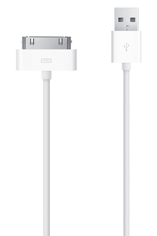 Chargeur pour iPhone CABLE 30 PIN VERS USB Apple