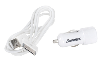 Chargeur pour iPhone Chargeur allume cigare iPhone 3GS/4/4S Energizer