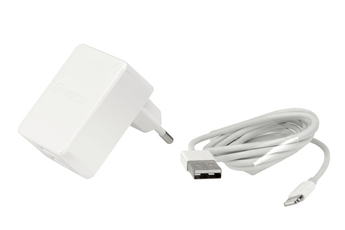 Chargeur pour iPhone CHARGEUR SECTEUR Ultimate 2 USB Lightning 3.4A Blanc Energizer