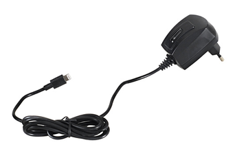 Chargeur pour iPhone Chargeur voyage 1A MFI pour iPhone 5 Muvit