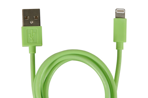 Câble iPhone Temium CABLE LIGHTNING 1M VERT