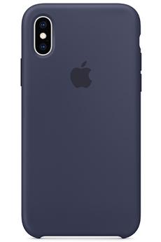 Coque iPhone CQ IPHXS SILICONE BLEU NUIT Apple c41f6911b8243