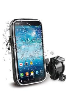 """Accessoires téléphone Support vélo avec housse waterproof pour smartphone avec écran jusqu'à 5,5"""" Muvit"""