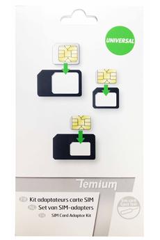 Accessoires téléphone NANO SIM ADAPTATER Temium