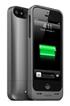Coque batterie Juice Pack AIR 1500mAh noir metal pour iPhone 5/5S Mophie