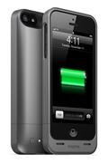 Coque batterie Mophie Juice Pack AIR 1500mAh noir metal pour iPhone 5/5S