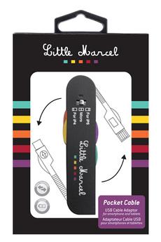 Chargeur portable POCKET CABLE Little Marcel