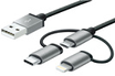 Mobility Lab CABLE 3 EN 1 MICRO USB LIGHTNING USB TYPE C photo 1