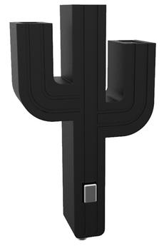 Chargeur pour téléphone mobile CHARGEUR ALLUME CIGARE CACTUS NOIR Mobility Lab