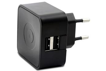 Chargeur pour téléphone mobile CHARGEUR SECTEUR 2 USB 2.4A Muvit