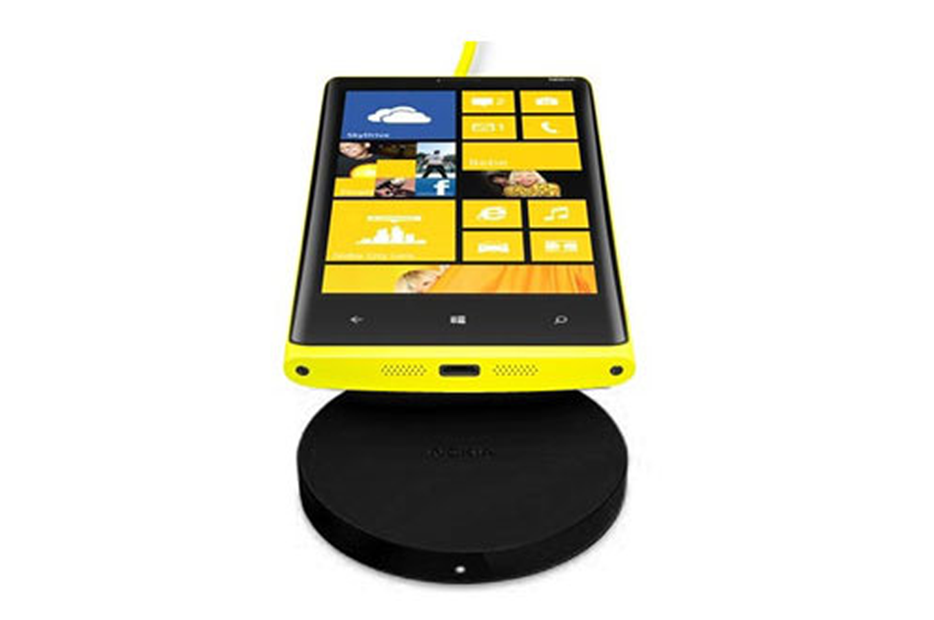 chargeur portable nokia socle de chargement sans fil noir dt601 pour nokia lumia dt601noir. Black Bedroom Furniture Sets. Home Design Ideas