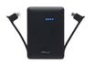 Batterie de secours BATTERIE DE SECOURS NOIRE 3000 MAH LIGHTNING/MICRO USB Pny