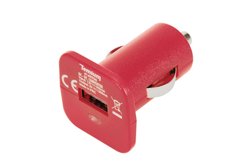 Chargeur portable Temium CHARGEUR ALLUME CIGARE ROUGE