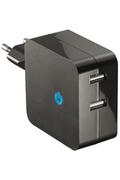 Chargeur portable Temium Chargeur secteur double USB 2.1 A