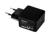 Chargeur pour téléphone mobile Temium CHARGEUR SECTEUR USB 2.1A NOIR