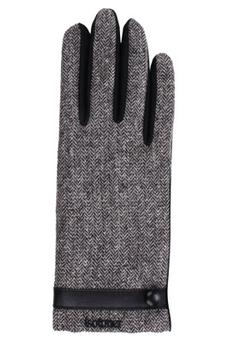 Gants pour écran tactile Gants Tactiles SmarTouch en Tissu chevrons pour Femme Taille Unique Isotoner