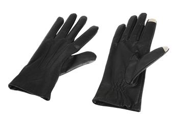 Gants pour écran tactile Gants Tactiles SmarTouch en Cuir pour Femme Taille M Isotoner