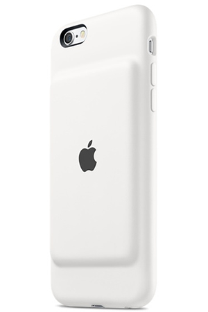 coque batterie apple smart battery case pour iphone 6 6s blanc darty. Black Bedroom Furniture Sets. Home Design Ideas