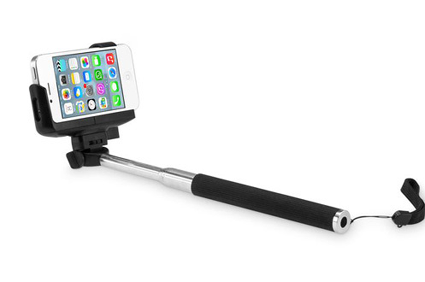 Support pour t l phone mobile mobility lab perche selfie for Support telephone portable