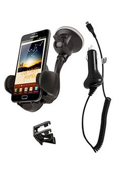 Support pour téléphone mobile PACK AUTO MICRO USB Muvit