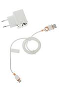 Chargeur pour téléphone mobile Unplug Chargeur secteur 2 USB / Micro USB