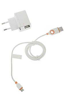 Chargeur portable Chargeur secteur 2 USB / Micro USB Unplug