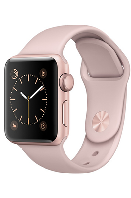Apple watch Apple WATCH SERIE 1 38MM CADRAN ALUMINIUM COULEUR OR-ROSE BRACELET SPORT ROSE